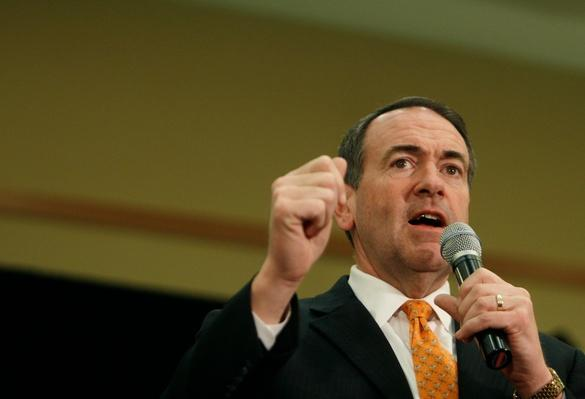 Huckabee Campaigns In Ohio Ahead Of Primary | U.S. Presidential Elections 2008