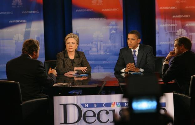 Democratic Presidential Candidates Debate In Cleveland | U.S. Presidential Elections 2008