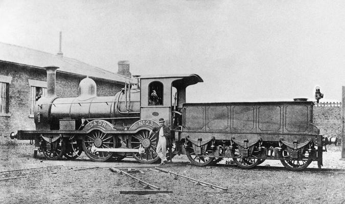 S&DR Locomotive | Evolution of the Railroad (Engine)