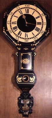 Act of Parliament clock inscribed 'The Gift of Sir Francis Forbes, 1714'