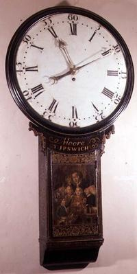 Act of Parliament clock, by Thomas Moore