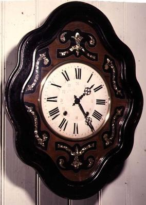 Vineyard clock, French, 19th century