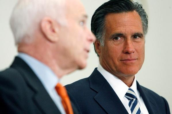 John McCain And Mitt Romney Meet In Salt Lake City | U.S. Presidential Elections 2008