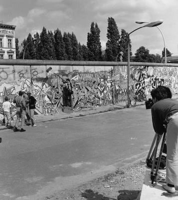 Filming Berlin Wall | Berlin Wall | The 20th Century Since 1945: Postwar Politics