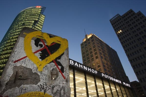 Potsdamer Platz at Night | Berlin Wall | The 20th Century Since 1945: Postwar Politics