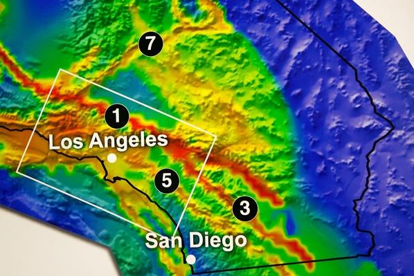 California Releases New Earthquake Forecast | Natural Disasters: Hurricanes, Tsunamis, Earthquakes