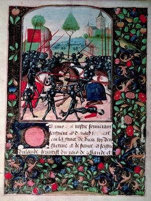 The Battle of Barnet, 1471