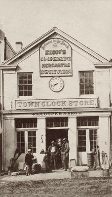 Town Clock Store | The Wild West is Tamed (1870-1910) | U.S. History