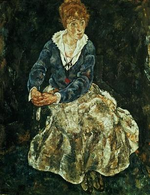 The Artist's wife seated, c.1912
