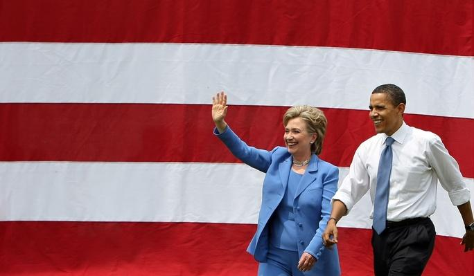 Barack Obama And Hillary Clinton Appear In First Joint Campaign Event | U.S. Presidential Elections 2008