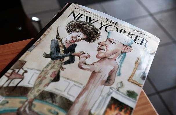 The New Yorker Cover Illustration Of Obama And Wife Provokes Controversy | U.S. Presidential Elections 2008