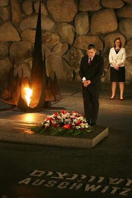 British Prime Minister Gordon Brown Visits Israel | Remembering the Holocaust