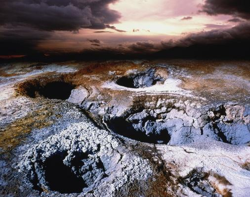 Iceland, Myvatn Reserve, Namaskard Geothermal Area | Earth's Surface