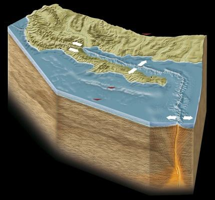 Diagram Showing California's San andreas Fault | Earth's Surface