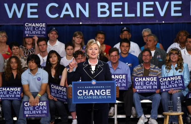 Hillary Clinton Campaigns For Barack Obama In Nevada | U.S. Presidential Elections 2008