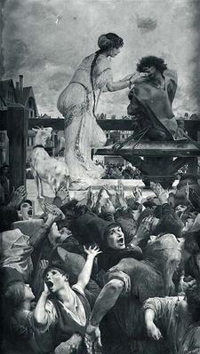 Esmeralda and Quasimodo, 1905