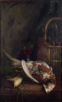 Still Life with a Pheasant, c.1861
