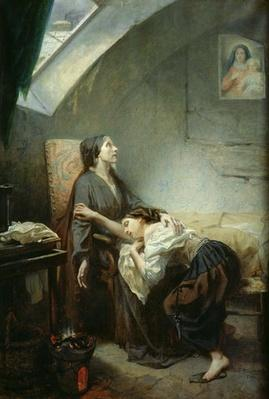 The Poverty-Stricken Family, or The Suicide, 1849