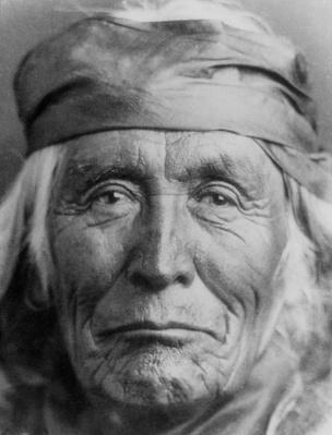 Portrait of elderly Native American Navajo man | Native American Civilizations | U.S. History