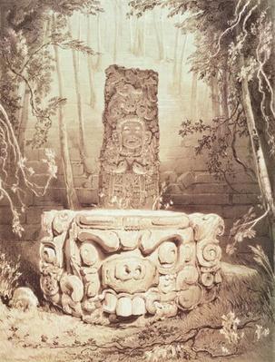 Mayan temple, Honduras