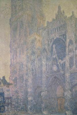 Rouen Cathedral, Harmony in White, Morning Light, 1894