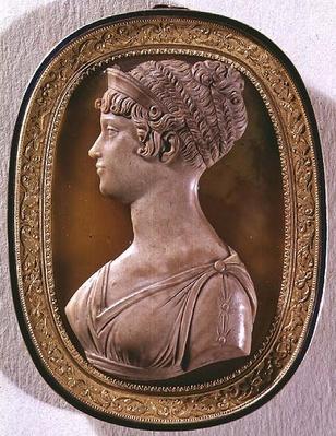 Cameo of Carolina Augusta, 4th wife of Franz II