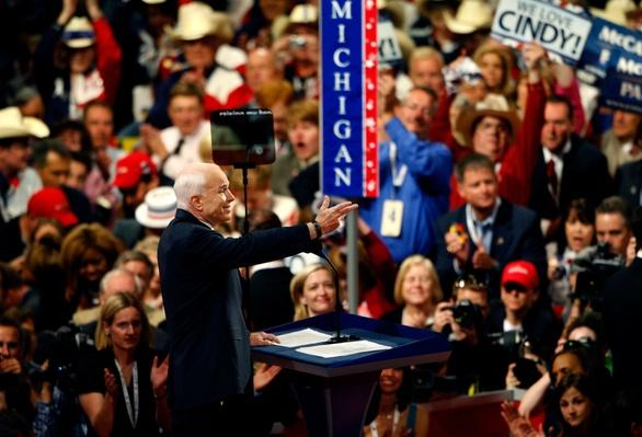 John McCain Accepts The Republican Party Nomination   U.S. Presidential Elections 2008
