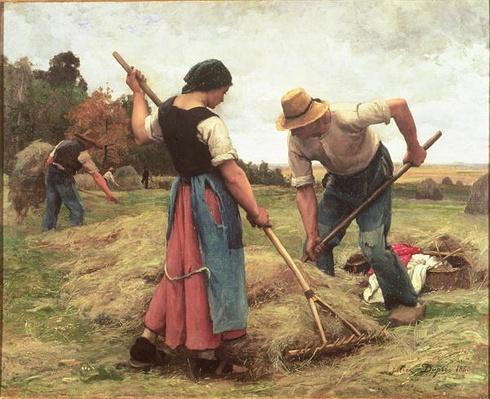Haymaking, 1880