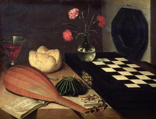 Still Life with Chess-board, 1630