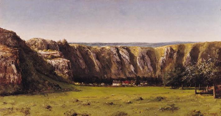 Rocky landscape near Flagey