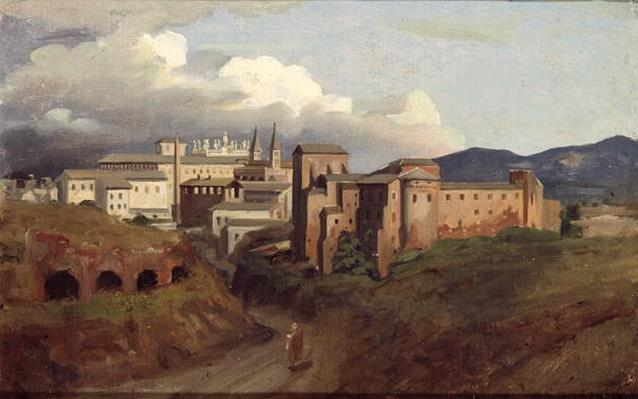 View of St. John Lateran, Rome, 1822