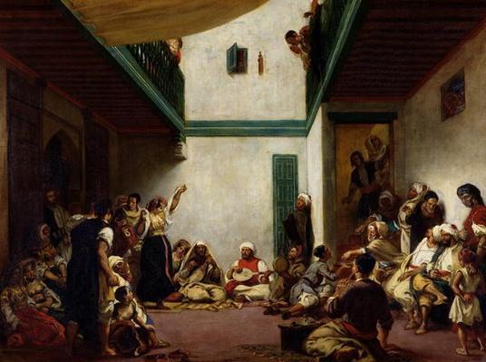A Jewish wedding in Morocco, 1841