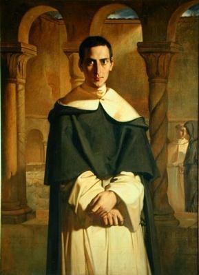 Portrait of Jean Baptiste Henri Lacordaire