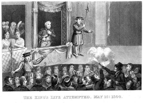 Attempt on the life of George III, 15 May 1800