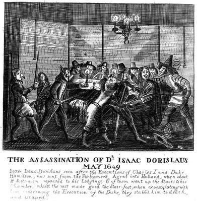 Assassination of Dr Isaac Dorislaus, May 1649