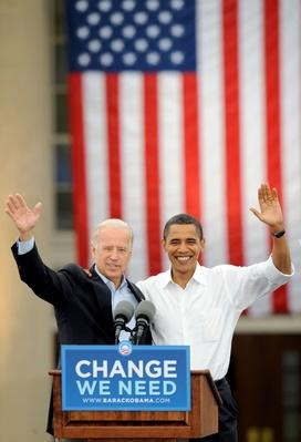 Obama And Biden Attend Rally In North Carolina | U.S. Presidential Elections 2008