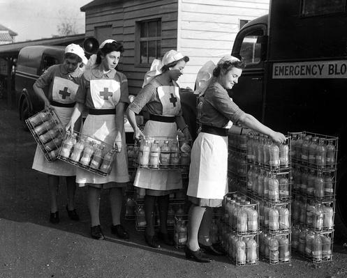 London, England, 21st November, 1942, Red Cross Nurses - World War Two | World War II
