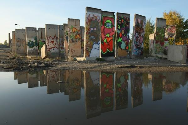 Berlin Enjoys Sunny Saturday | Berlin Wall | The 20th Century Since 1945: Postwar Politics
