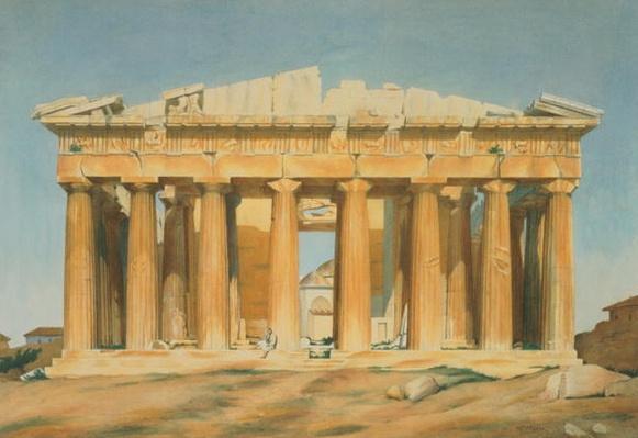 The Parthenon, Athens, 1810-37