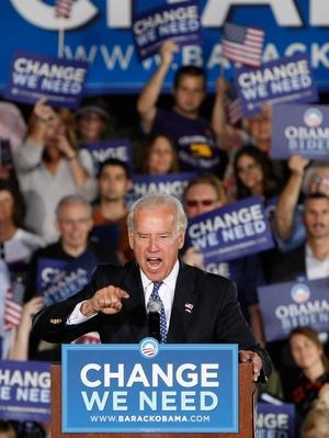 Joe Biden Campaigns In Nevada | U.S. Presidential Elections 2008