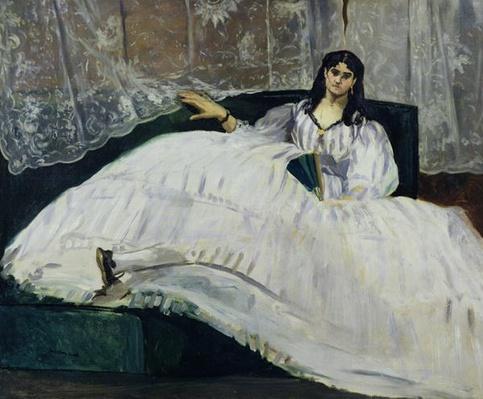 Portrait of Jeanne Duval, 1862