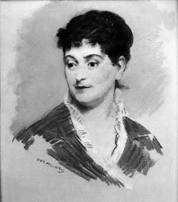 Portrait of Madame Emile Zola, 1874
