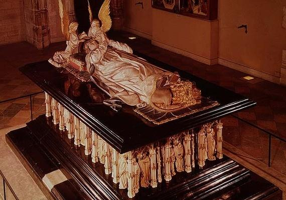 The tomb of Philip the Bold, Duke of Burgundy
