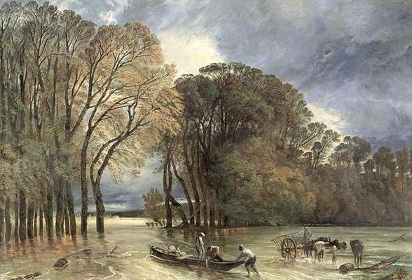 The Flood at Saint-Cloud, 1855