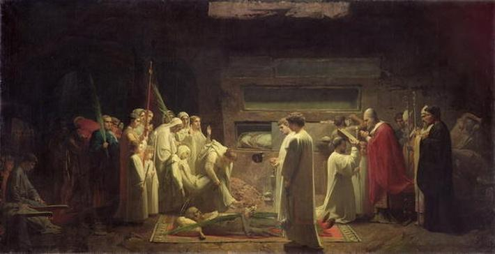 The Martyrs in the Catacombs, 1855