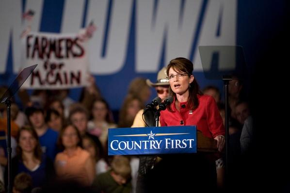 Palin Campaigns In Iowa Day One Before Election | U.S. Presidential Elections 2008