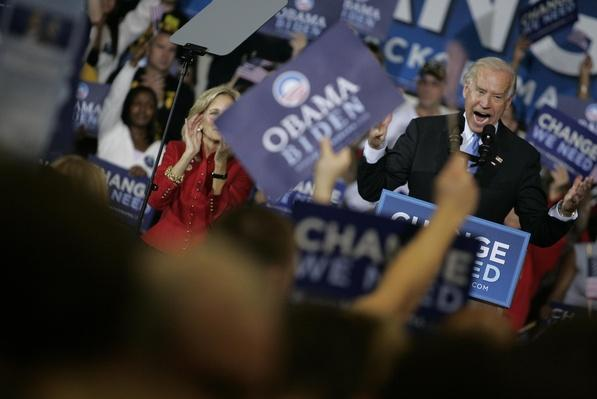 Joe And Jill Biden Campaign In Ohio On Last Day Before Election | U.S. Presidential Elections 2008