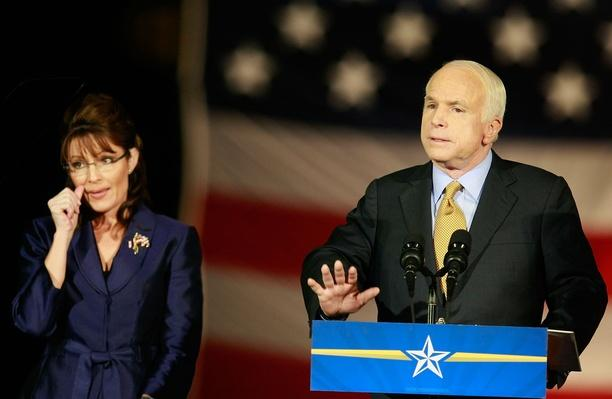 McCain Holds Election Night Gathering In Phoenix | U.S. Presidential Elections 2008