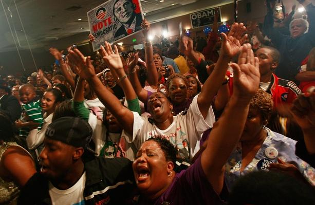 African Americans In South Celebrate Obama's Historic Win | U.S. Presidential Elections 2008