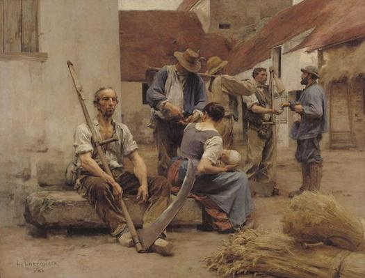 Paying the Harvesters, 1882